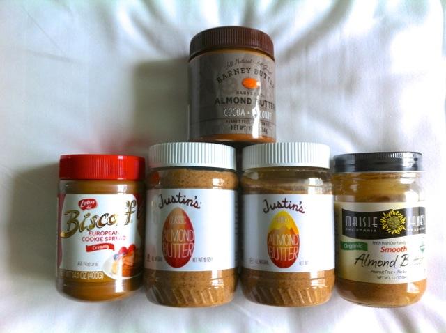 Travelling Nut Butter Stash