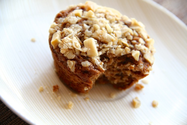 Applesauce Oatmeal Muffin