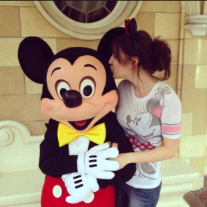 Kisses For Mickey