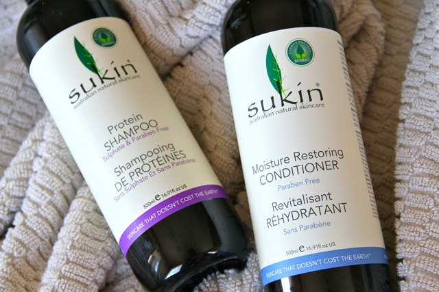 Sukin Hair Products