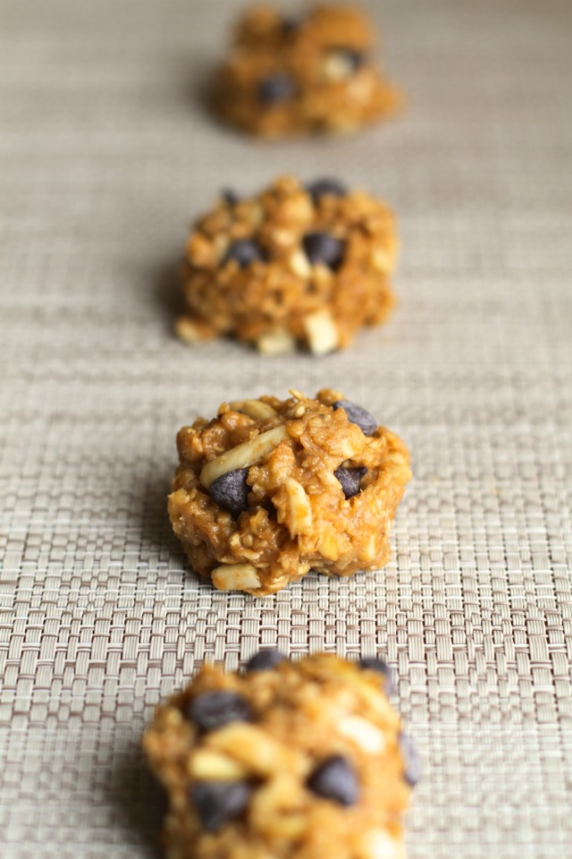 Chunky Monkey Snack Bites || runningwithspoons.com