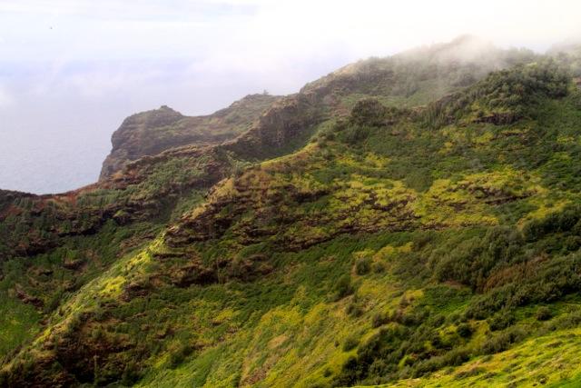 Flying Over Kauai
