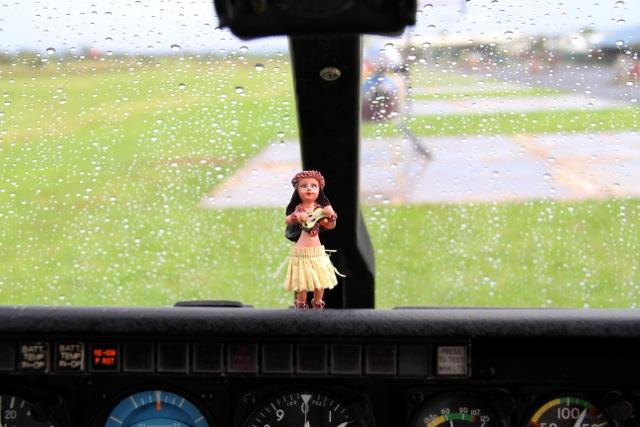 Helicopter Hula Girl