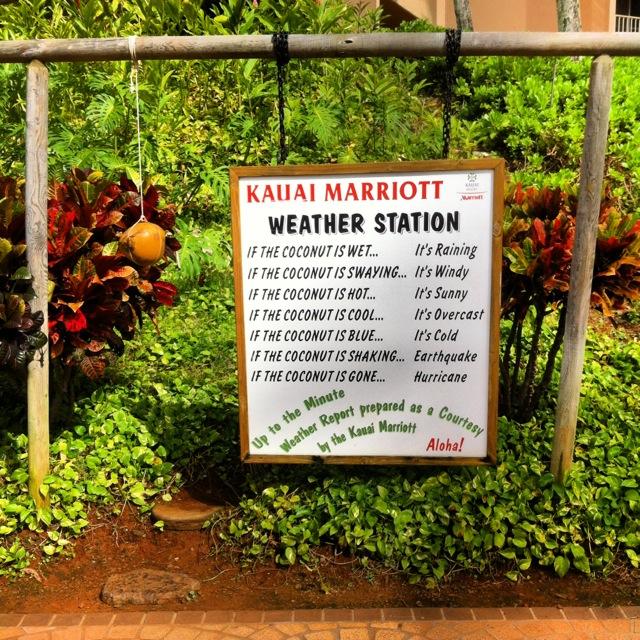 Kauai Weather Station