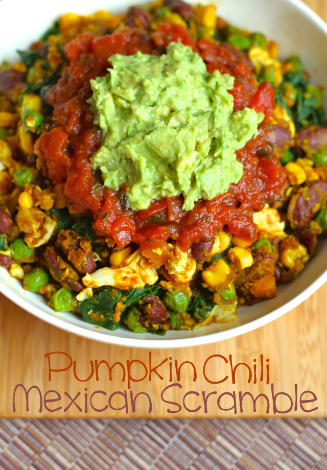 Pumpkin Chili Mexican Scramble