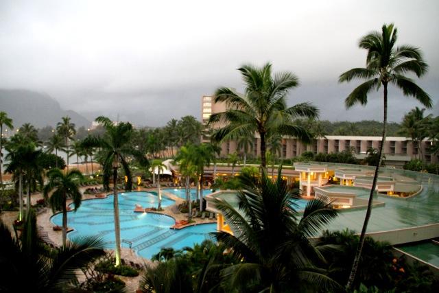 Rain in Kauai