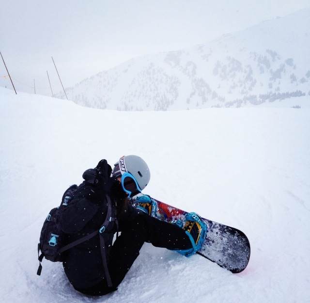Snowboard Strapping In2