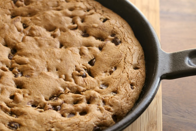 Chocolate Chip Skillet Cookie2