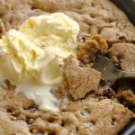 Chocolate Chip Skillet Cookie3