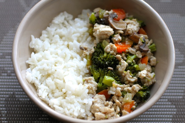 Coconut Rice Stir Fry