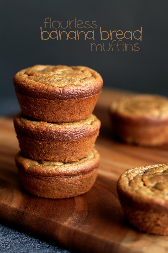 Flourless-Banana-Bread-Muffins