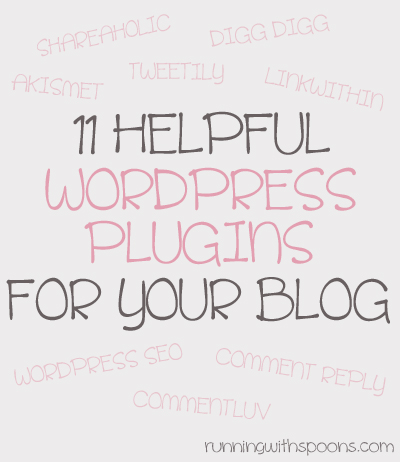 Helpful WordPress Plugins