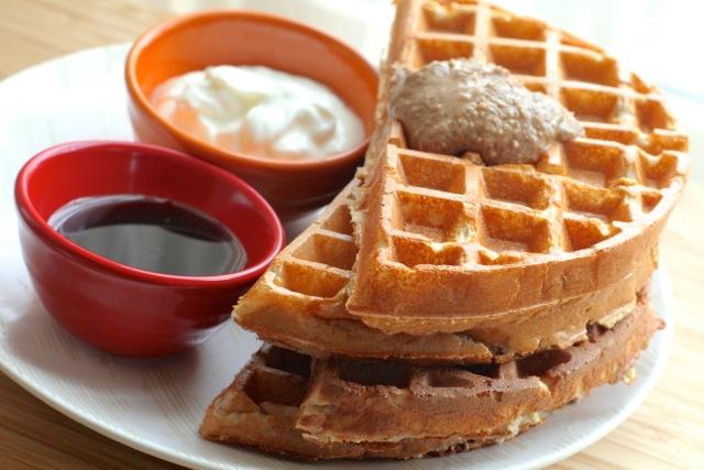 Pancake Waffle Stack