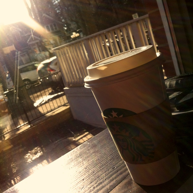 Starbucks In The Sun