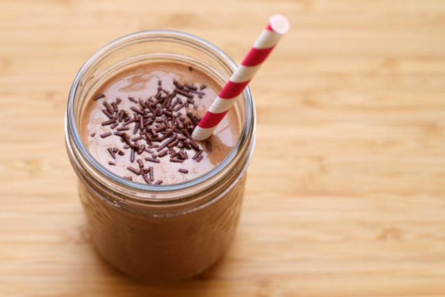 Thick and Creamy Chocolate Smoothie