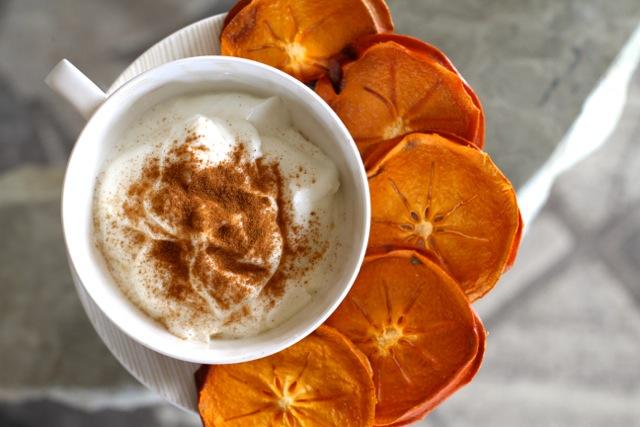 Yogurt and Persimmons