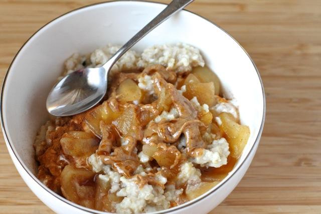 Almond Honey Oatmeal