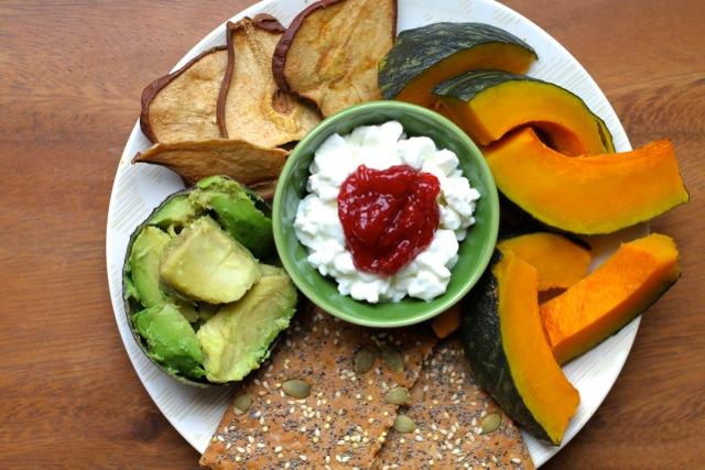 Avocado Snack Plate