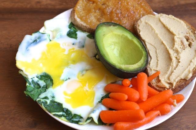 Eggy Avocado Snack Plate