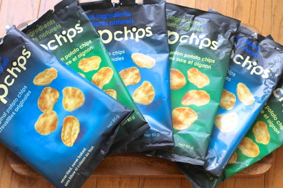 Empty Popchip Bags