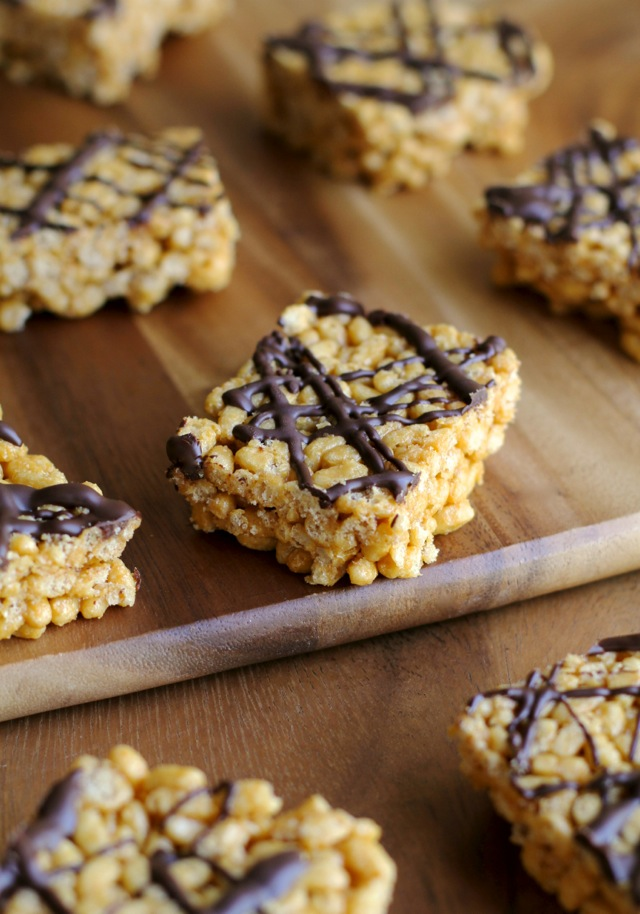 Healthy rice krispie treats running with spoons healthier rice krispie squares6 no matter how ccuart Choice Image