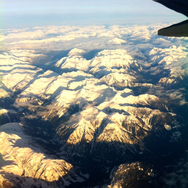 Mountains By Plane