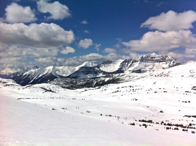 Snowy Sunshine Mountains