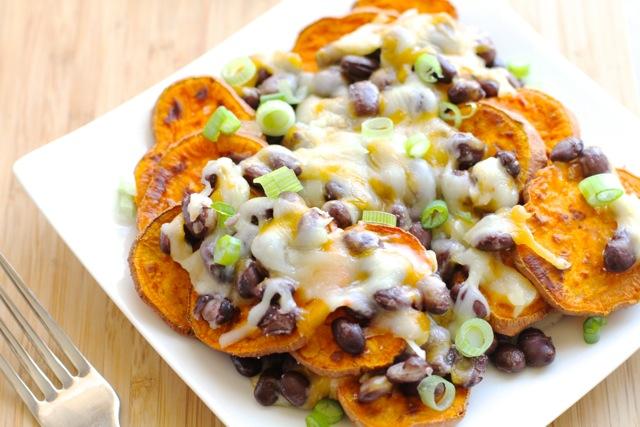 Sweet Potato Nachos0