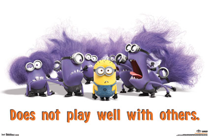 Crazy Minions