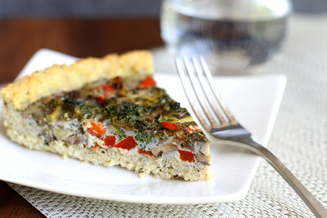 Egg and Veggie Quinoa Pie4