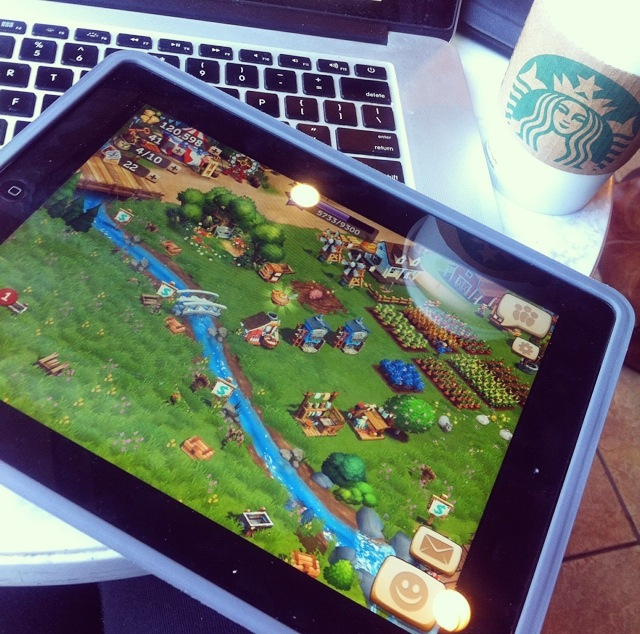 Starbucks Farmville