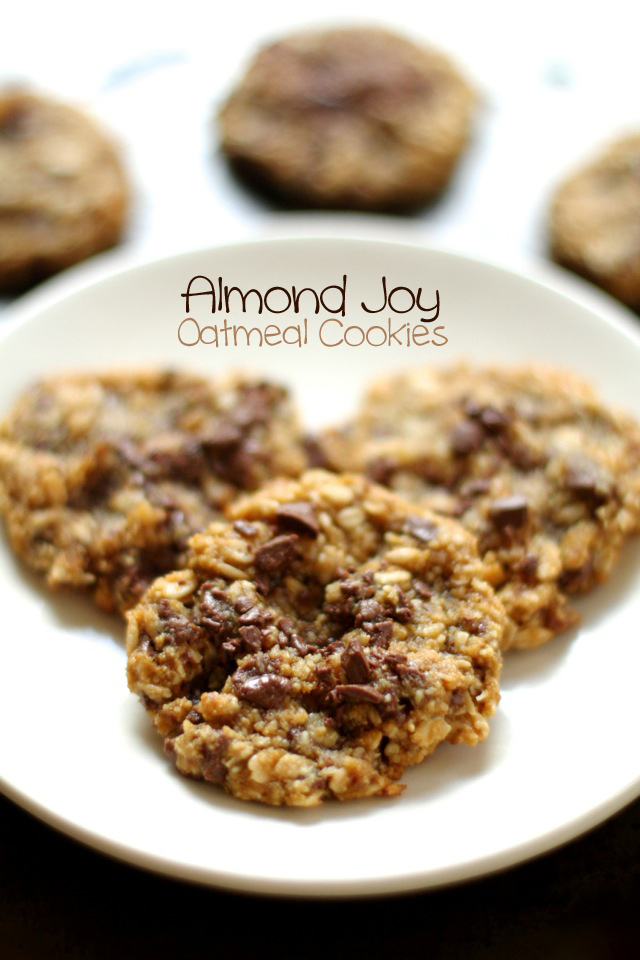 Almond-Joy-Oatmeal-Cookies