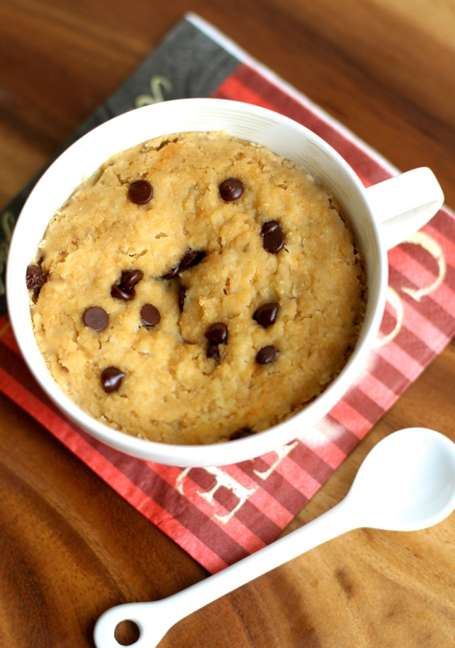 Banana Bread Mug Cake -- 5 minutes and 5 ingredients is all you need ...