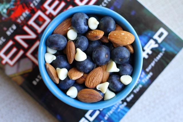 Blueberry Almond Snack Bowl
