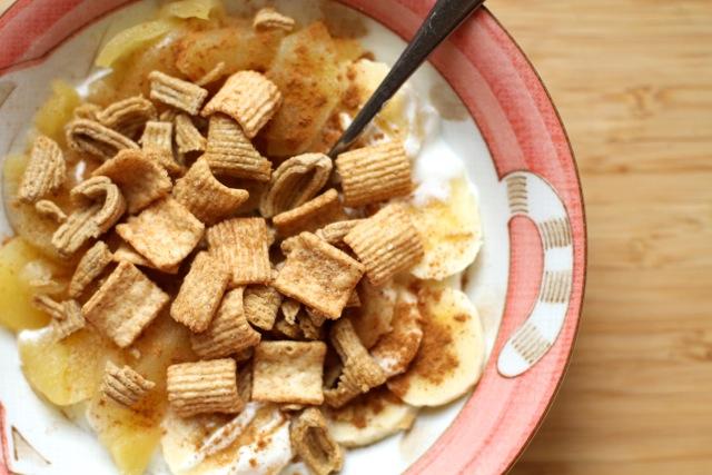 Cereal and Yogurt Bowl