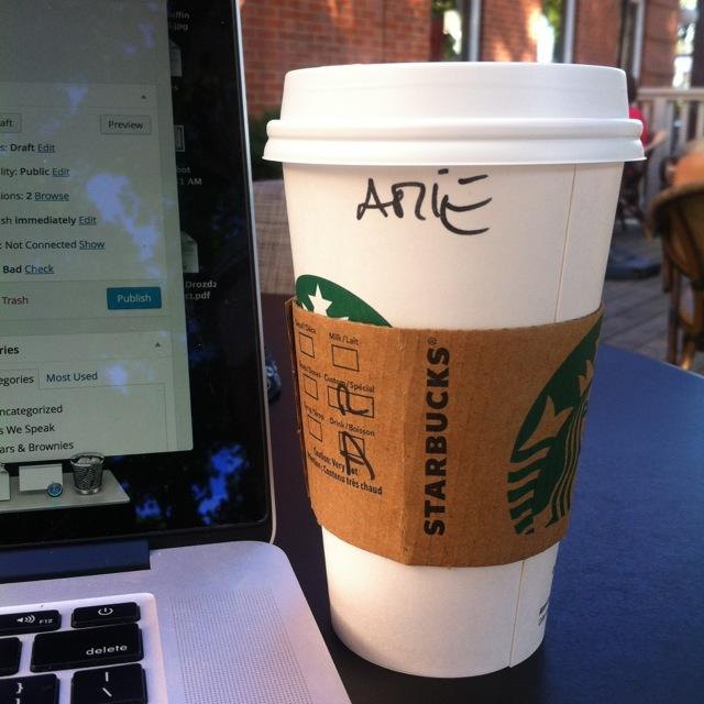 Coffee for Arie
