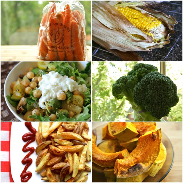 Epic Veggie Collage