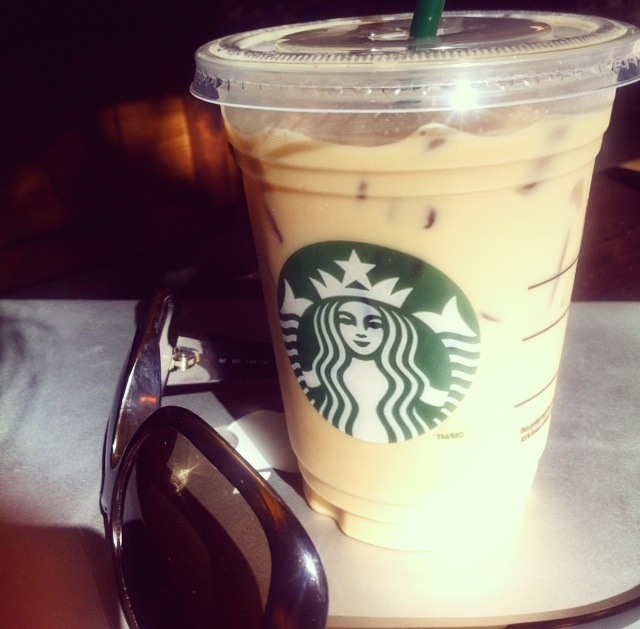 Iced Flavoured Latte
