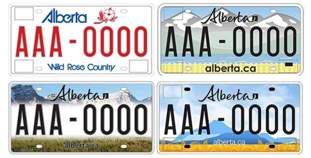 New Alberta Plates