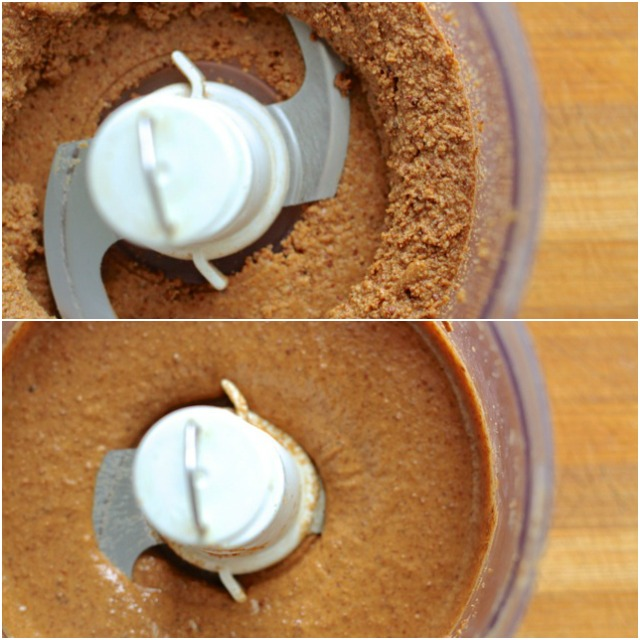 Almond Butter Processing Stages
