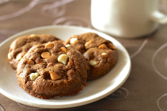 Maple Almond Butter Cookies