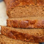Spiced Greek Yogurt Applesauce Bread5