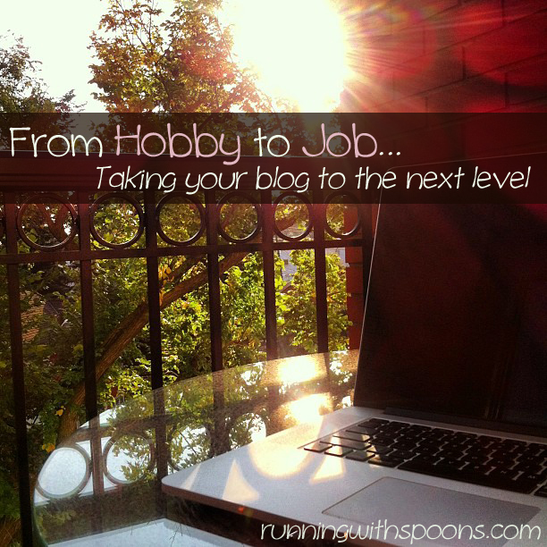 . from hobby to job – taking your blog to the next level .