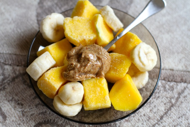 Almond Butter and Fruit