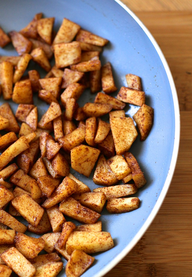 Cinnamon Maple Sauteed Apples
