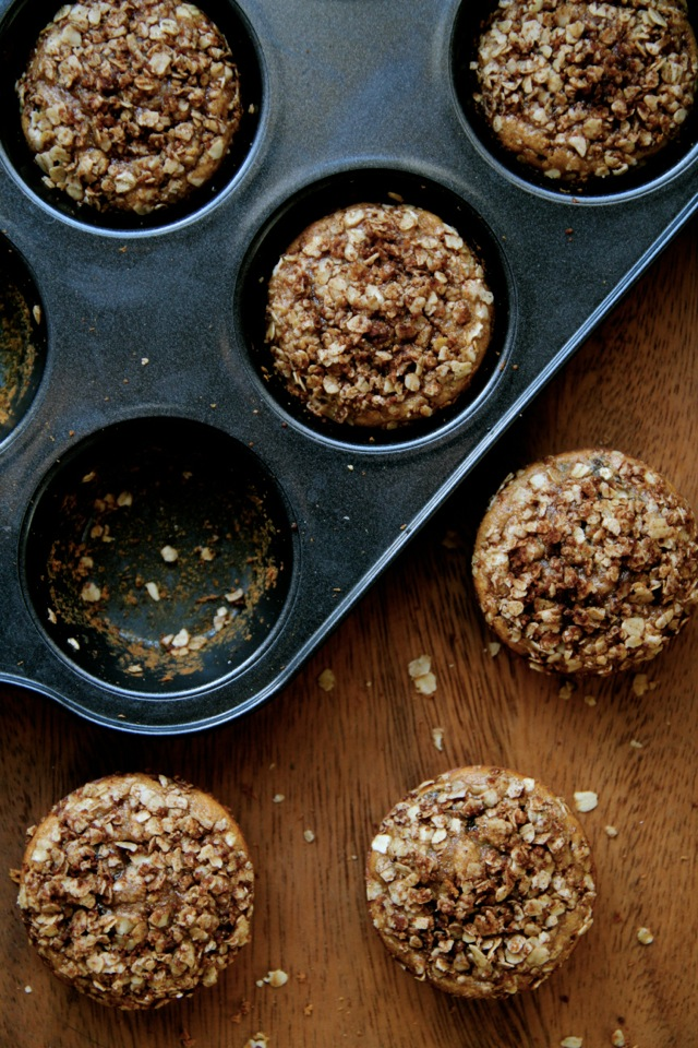 Flourless Apple Cinnamon Muffins2