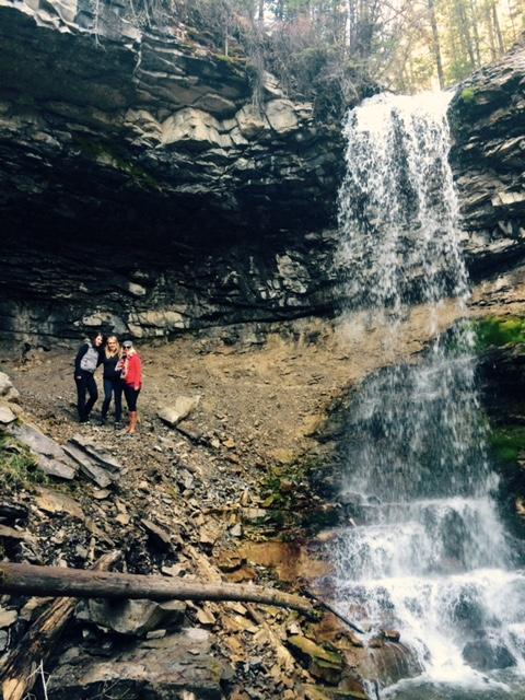 Girls at the Falls