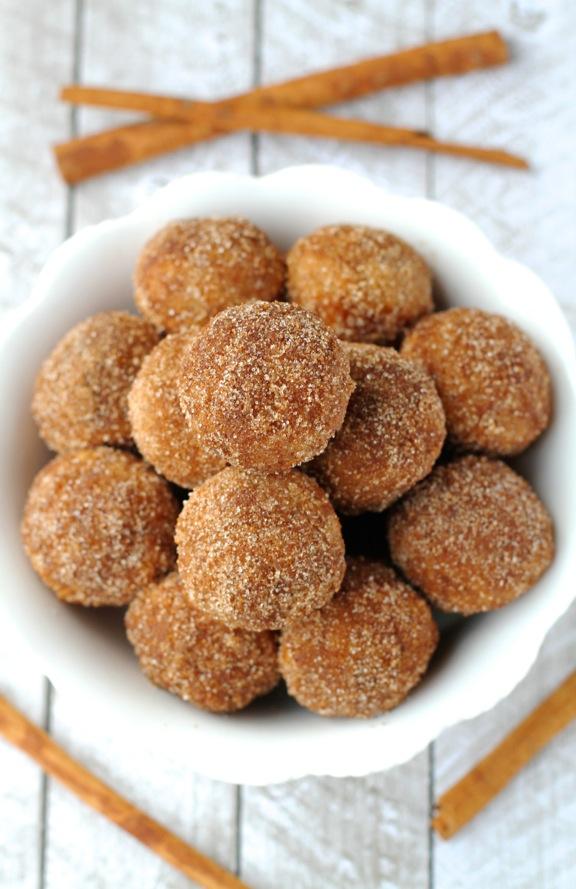 Snickerdoodle Donut Holes4