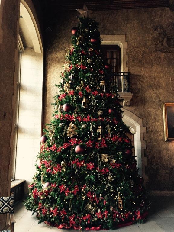 Castle Xmas Tree