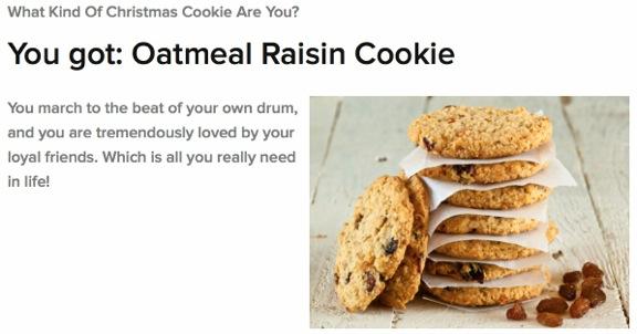 Christmas Cookie Quiz